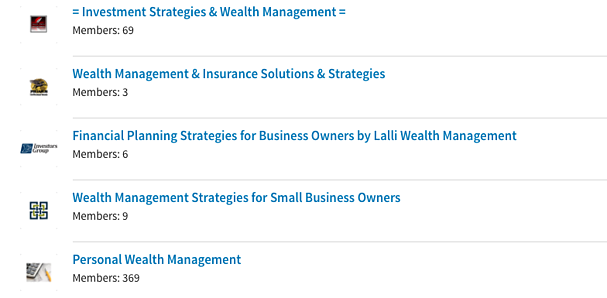 Linkedin-Groups-Examples